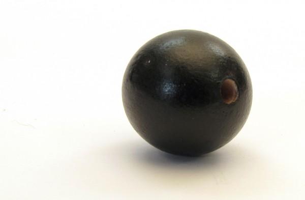 kugel in schwarz